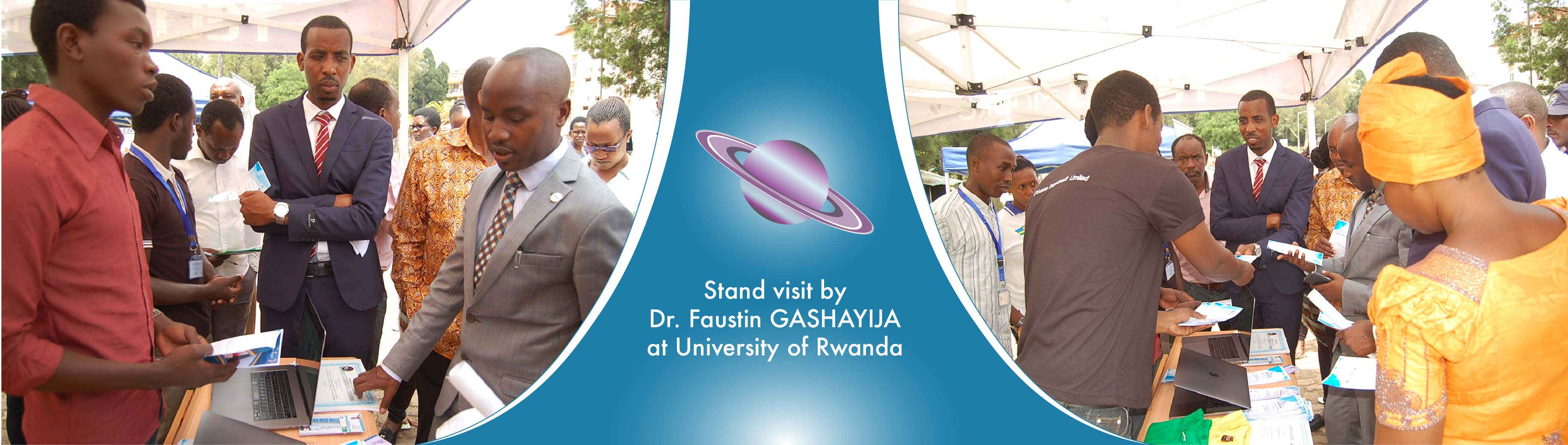 """Our stand at University of Rwanda&quot"